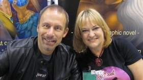 Elfquest creators Richard & Wendy Pini. Photo Credit: Richard and Wendy Pini