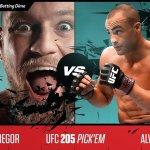 Sports Betting Dime Free UFC 205 Pick'em