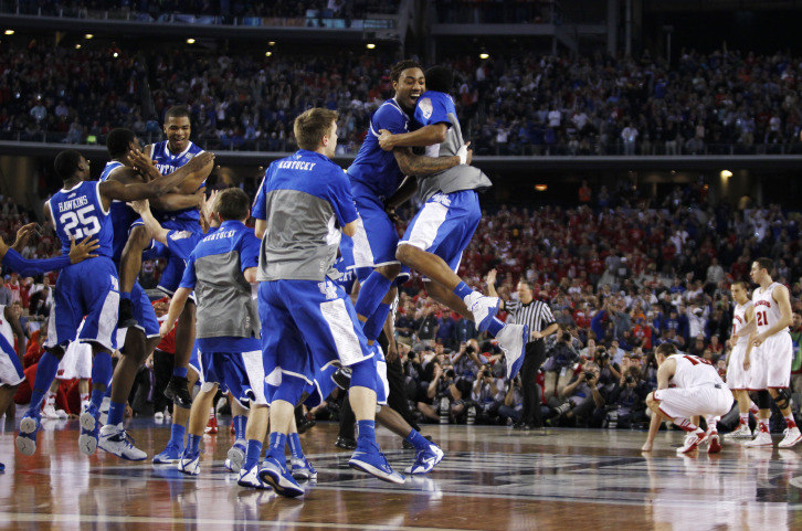 Kentucky Basketball Isn T Going Undefeated Or Winning The: 2014 March Madness Final – Kentucky Vs Connecticut
