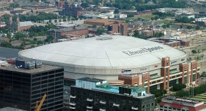 The former home of the St. Louis Rams.